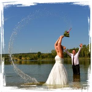 Trash The Dress mit Franzi und Fabian